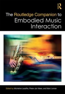 IMHSD members contribute to new book on Embodied Music Cognition