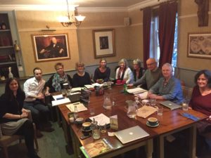 Katie Overy Attends BDA Music Committee Meeting in London